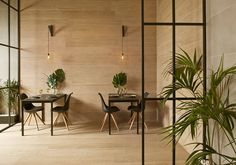 Dressing up living spaces with #ceramic tiles. It is a long time since ceramic tiles were solely restricted to areas like kitchens, bathrooms or façades. Thanks to their beauty, resistance, versatility, and endless different finishes, they are the perfect solution for living spaces of all kinds and for use both #indoors and out.