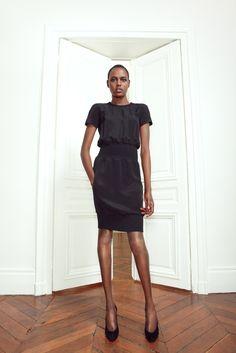 Martin Grant Fall 2012 Ready-to-Wear Fashion Show - Ajak Deng