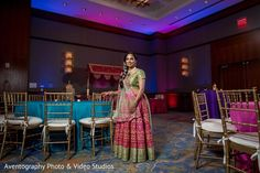 Sangeet night celebration portrait