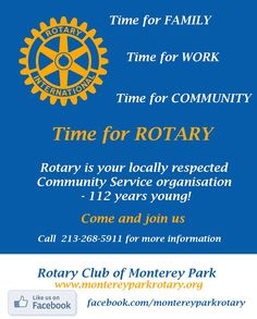 Time for Rotary