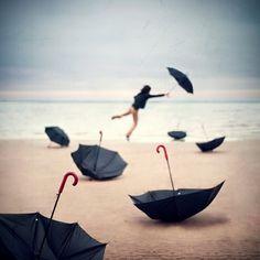Surreal Dream Photography By Kevin Corrado Aperture Photography, Dream Photography, Photography Basics, Classy Photography, Narrative Photography, Umbrella Photography, Cherbourg, Umbrellas Parasols, Under My Umbrella