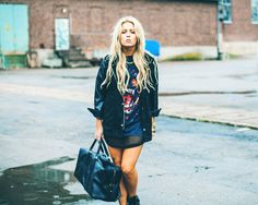 Fanny Lyckman has the most amazing street style. Click to check out more Swedish Stylistas.