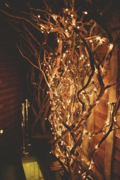 fairy lights and atmosphere