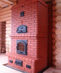 Heating stove_red brick