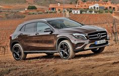 #Mercedes GLA 220 CDI 4Matic with Offroad-Pakage