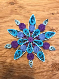 quilling snowflakes | Pin it Like Image