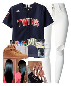 """Turn up...who got a twin??"" by aleafm0ffical ❤ liked on Polyvore featuring (+) PEOPLE, NIKE, women's clothing, women's fashion, women, female, woman, misses and juniors"