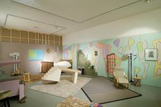 Installation, Jean Cocteau Bed room by Marc Camille Chaimowicz Contemporary Sculpture, Contemporary Bedroom, Contemporary Art, Marc Camille Chaimowicz, Nottingham Contemporary, Jean Cocteau, Brutalist, Installation Art, Interior Design