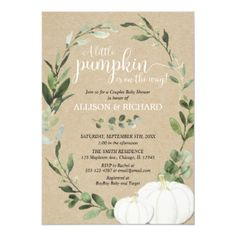 Fall sip and see gender neutral baby shower invitation - baby shower ideas party babies newborn gifts Sip And See Invitations, Zazzle Invitations, Baby Shower Invitations, Party Invitations, Baby Shower Fall, Gender Neutral Baby Shower, Fall Baby, Couples Baby Showers, Jamel