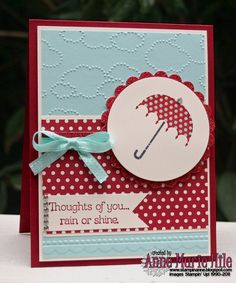 Stampin' Anne: Rain or Shine for {PP#125}