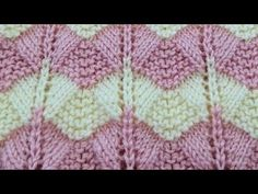 zigzag lace knitting design in hindi / border, cardigan / two color knit. Crochet Lace Scarf, Crochet Socks Pattern, Crochet Blanket Patterns, Stitch Patterns, Crochet Beanie, Two Color Knitting Patterns, Knitting Designs, Beginner Crochet Projects, Crochet Unicorn