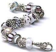 Trollbeads White & Black Bracelet