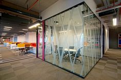 Gürallar LAV – Istanbul Offices, Turkey. Mainly the open plan office principles had been followed while designing the working areas