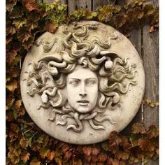 In Greek mythology Medusa was a monster, a Gorgon, generally described as having the face of a hideous human female with living venomous snakes in place of hair. Gazing directly upon her would turn onlookers to stone.