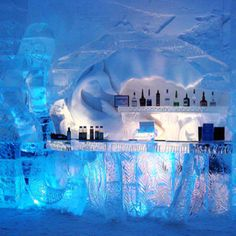 Ice bar: check. @Abbey Jones