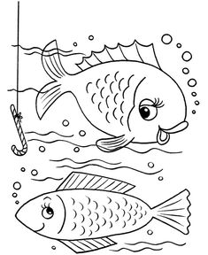 Fishes Coloring Pages
