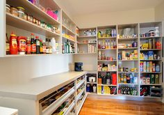 products – Melbourne Kitchen Designers and Renovators Pantry Design, Kitchen Design, Scullery Ideas, Urban Kitchen, Melbourne, Butler Pantry, Laundry In Bathroom, Walk In Pantry, Open Shelving