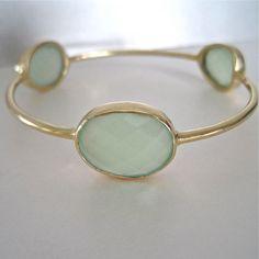 mint bracelet.