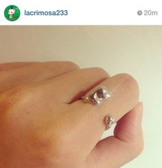 How cute! Phantom of the Opera ring {pic credit to person on instagram}