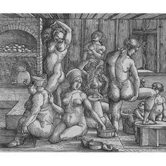 The WomenS Bath Canvas Art - (24 x 18)