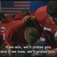 Great quote from Facing the Giants on of my favorite parts of this movie