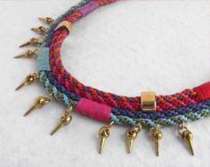 elcuadernodeideas: kumihimo necklace with cord