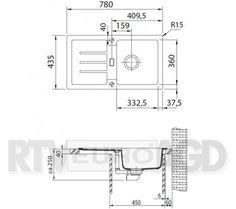 Franke Strada SAG 614-78 (onyx) - Dobra cena, Opinie w Sklepie RTV EURO AGD