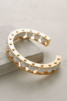 Shimmered Aeon Cuff - anthropologie.com #anthrofave