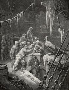 A selection Gustave Dore art prints from the Rime of the Ancient Mariner Gustave Dore, Francisco Goya, Peter Paul Rubens, Ghost Ship, Haunted Places, Wood Engraving, Ghost Stories, French Artists, Marines