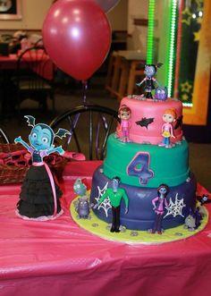 Vampirina Birthday cake!