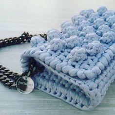 La nerisbag di Valeria#crocheting #handmadewithlove #fettuccia#