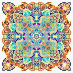 """""""Mandala Design 246"""" - art by Philluppus, via deviantART"""