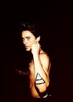 Jared Leto 30 seconds to mars <3