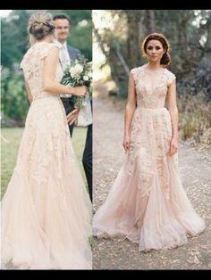 A-Linie/Princess-Stil V-Ausschnitt Ärmellos Applique Brautkleid Tüll