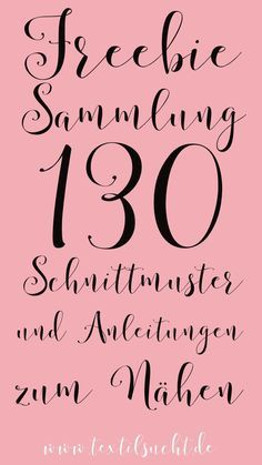 Freebie Sammlung: 130 kostenlose Schnittmuster Are you looking for something to sew? Or are you perhaps sewing beginners and want … Baby Knitting Patterns, Sewing Patterns Free, Free Pattern, Clothing Patterns, Crochet Patterns, Embroidery Patterns, Skirt Patterns, Afghan Patterns, Crochet Ideas