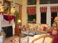 COUNTRY STYLE FAMILY ROOMS | ... this room in my favorite style Country French., Living Rooms Design