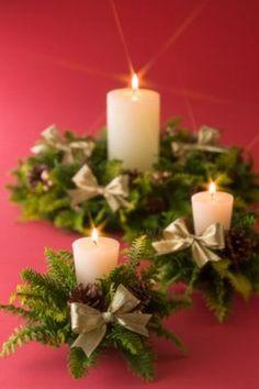 Tradycyjny stroik świąteczny © Jupiterimages