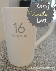 Easy Vanilla Latte