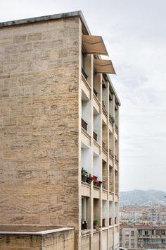Adam Khan's inspiration: La Tourette & Vieux Port, Marseille by Fernand Pouillon. Photo: Ed Tyler