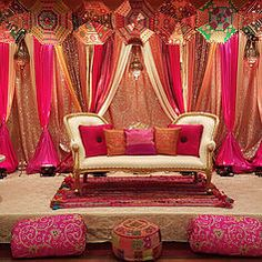 R&R Event Rentals - Bay Area Indian Wedding Decorations