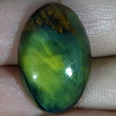 20.70Cts. 100% NATURAL NELLITE Cabochon Loose Gemstone BRILLIANT OVAL SHAPE 741 #Handmade