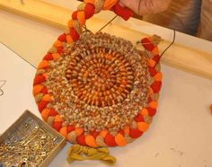 coiling, hooking and braiding