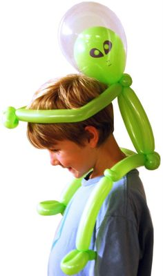 We offer Balloon Twisting for any kids party or event. Our balloon twisters can also face paint and are sure to liven up any party. Balloon Hat, Balloon Crafts, Balloon Centerpieces, Balloon Decorations, Alien Hat, Ballon Animals, Balloons Galore, Clown Party, Balloon Modelling