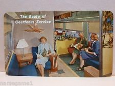 RAILROAD POCKET CALENDAR SEABOARD COAST LINE SCL 1958
