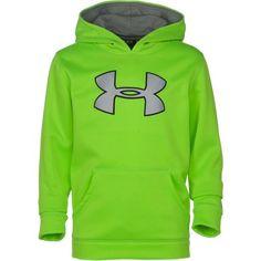 Under Armour® Boys\u0027 Armour® Fleece Storm Big Logo Hoodie