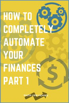 This Brand New Series is going to totally revolutionize your money. (You HAVEN'T heard anything like this before - trust me I've looked) What if you could set up a few simple systems that totally automate everything for you?  Including your financial GROWTH! Check this next level 3 part series at: http://faithlifemoney.org/how-to-completely-automate-your-finances-part-1/