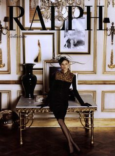 Ralph Lauren Collection Ad Campaign Fall/Winter 2008 Shot #6