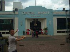 An #ArtDeco facade on a market in Malaysia! #KualaLumpur