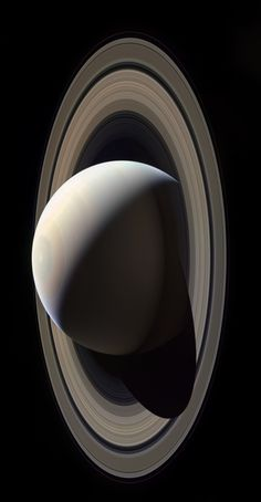 "astronomyblog: "" Image of Saturn taken by Cassini spacecraft in October 28, 2016. Credit: NASA / JPL / Cassini """