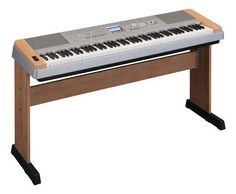 """Yamaha DGX640C Digital Piano, Cherry by Yamaha. $699.99. Yamaha DGX-640 Digital Piano - Cherry          Key Features  88 key Graded Hammer Standard (GHS) Keyboard with matte finish of black keys Amazingly Realistic and Dynamic Sounds Digital Signal Processor (DSP) """"64-note polyphony"""" - Rich expressive power, free from sound cutoff even when the sustain pedal is used Performance Assistant Technology (P.A.T.) Music Database plus External Files Easy Performance with Mus..."""